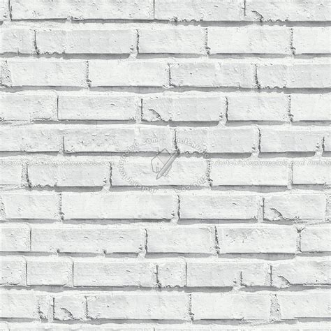 Gray Green Paint by White Bricks Textures Seamless