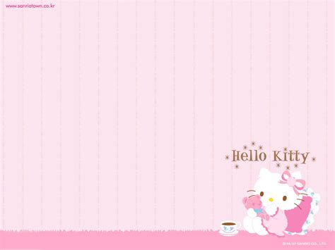 taek tha wallpaper  kitty imut  lucu