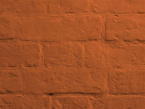 brown painted brick wall free stock photo domain pictures