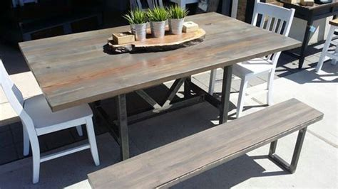 woodworking cl table custom made weathered reclaimed wood table by reclaimed