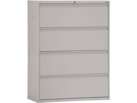42 Lateral File Cabinet 800 Series Lateral File Cabinet 4 Drawer 42 Quot W Sfl 428 Metal File Cabinets