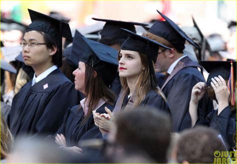 emma watson college major emma watson becomes an official brown university graduate