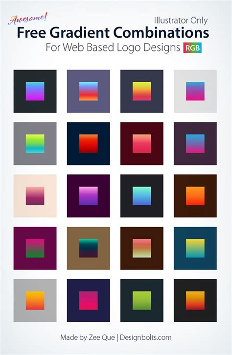 awesome color combinations 20 awesome free gradient color combinations for web based
