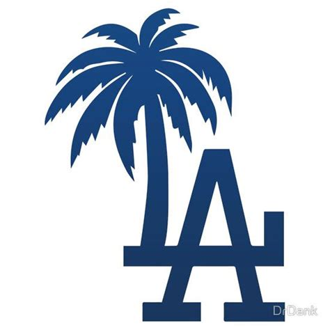 la tattoo logo los angeles dodgers tropical logo by drdank pins and
