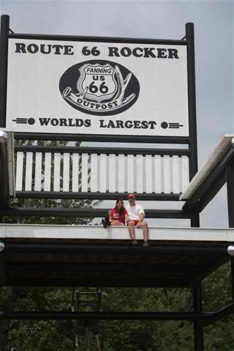 Worlds Largest Rocking Chair by World S Largest Rocking Chair Lifts Spirits Cuba Mo