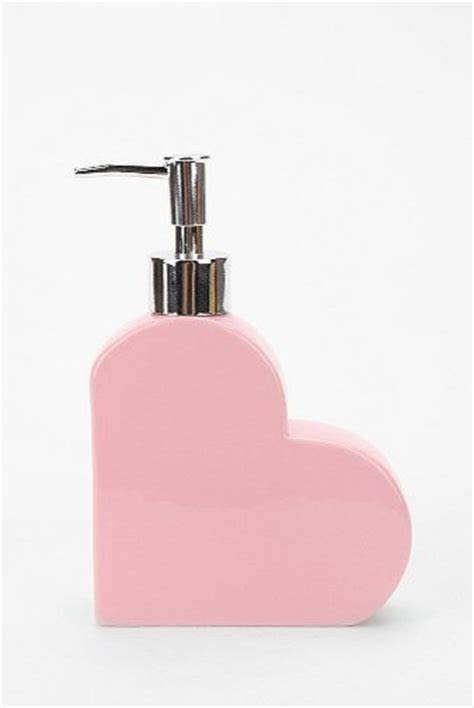 heart bathroom accessories heart soap dispenser contemporary bathroom accessories