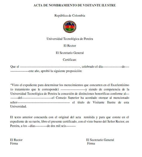171 Acta De Nombramiento De Visitante Ilustre