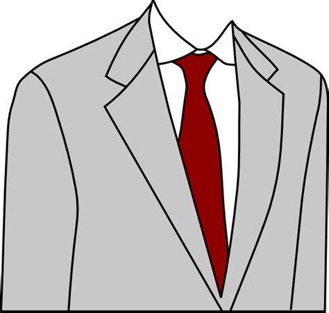A Suit Clipart light grey suit clip at clker vector clip