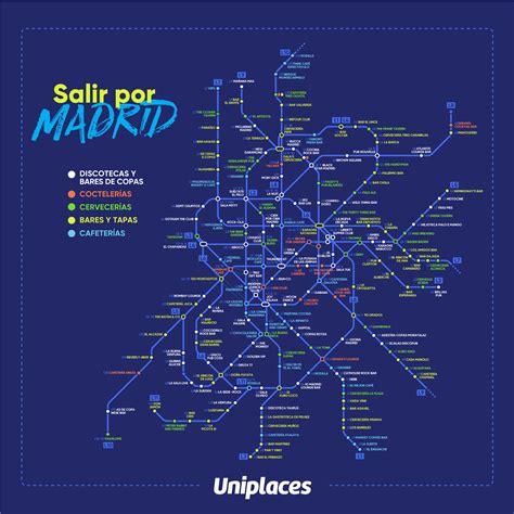 salir por madrid de noche los mejores lugares para salir por madrid por parada de metro