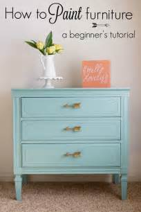 How To Paint Furniture how to paint furniture a beginner s tutorial