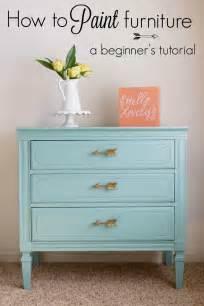 How To Paint Furniture how to paint furniture a beginner s tutorial