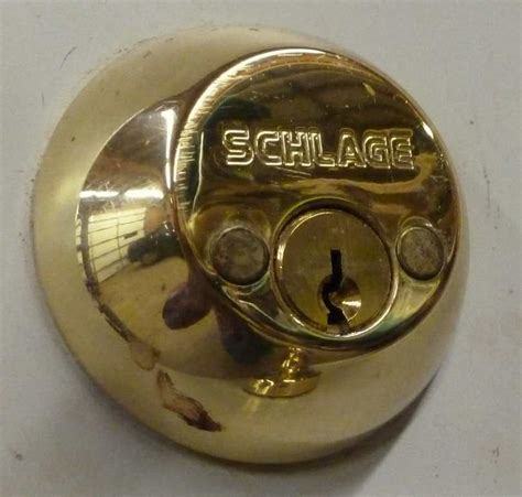 lock how to remove schlage deadbolt home improvement