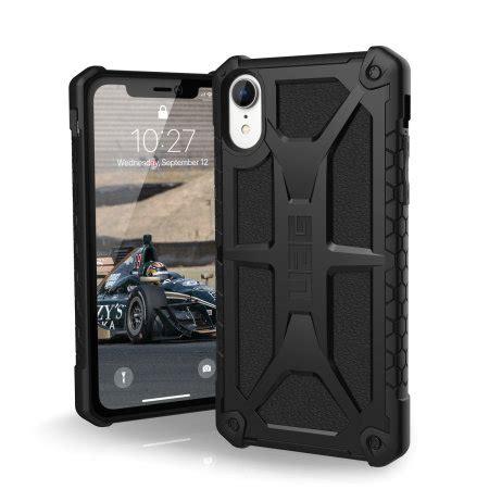 uag monarch premium iphone xr protective case black