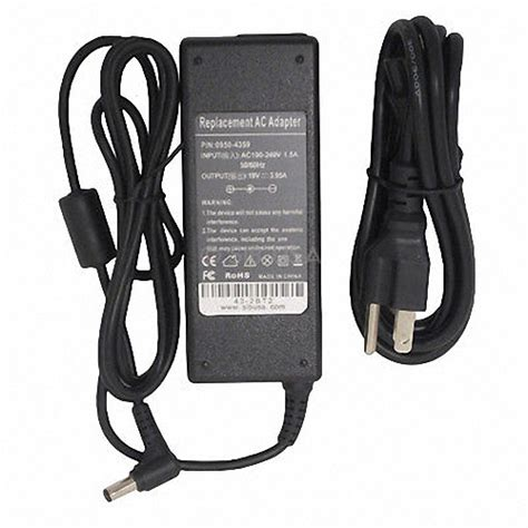 Adaptor Charger Toshiba Satellite M300 L310 C600 L600 19v 342a Ori toshiba satellite l500d 00v l500 1w4 l500 1qk l500d 00x laptop ac adapter charger power supply
