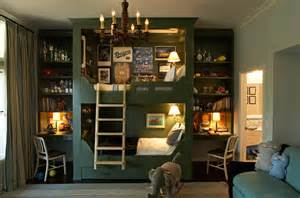 built in bunk beds cottage boys room kristen panitch