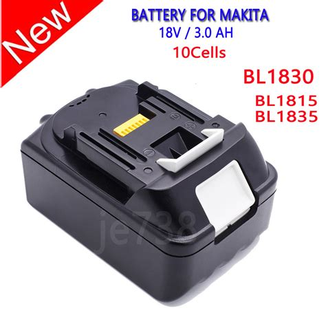 Bor Charger Makita 18v 18 volt lxt lithium ion 3 0 ah replace battery for makita batteries bl1830 ebay
