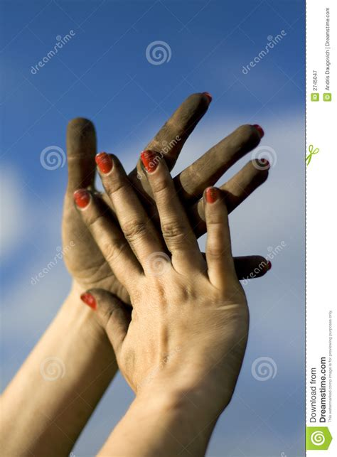 dirty hands royalty  stock photography image