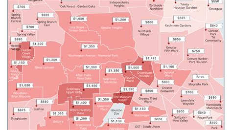 Apartment Map Search Houston Zumper Finds Houston Is The 21st Most Expensive City To