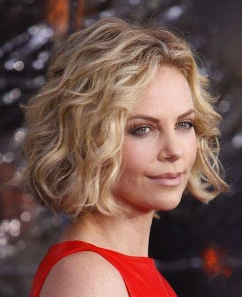 large curl spiral perms hair on pinterest spiral perms loose spiral perm short hair charlize theron short