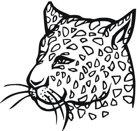 desenho de onca pintada para colorir