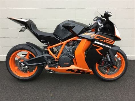 Used Ktm Rc8 2008 Ktm Rc8 Orange Craigslist Used Motorcycles For Sale