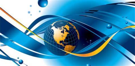 Business Background Check Free Glossy Globe Business Background Vector Free