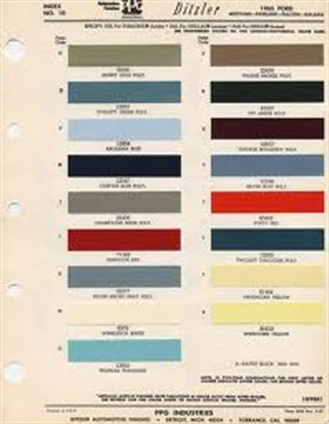 motorheads performance classic car news how to find your classic car s original paint color