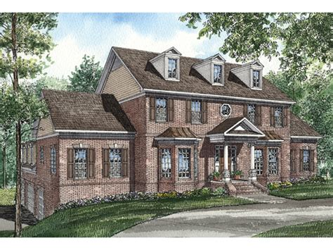georgia house plans clyde park luxury georgian home plan 055s 0034 house