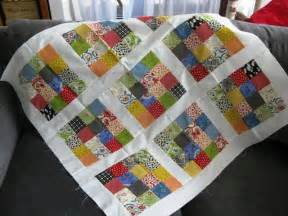 a bit of kaos jelly roll baby quilt tutorial