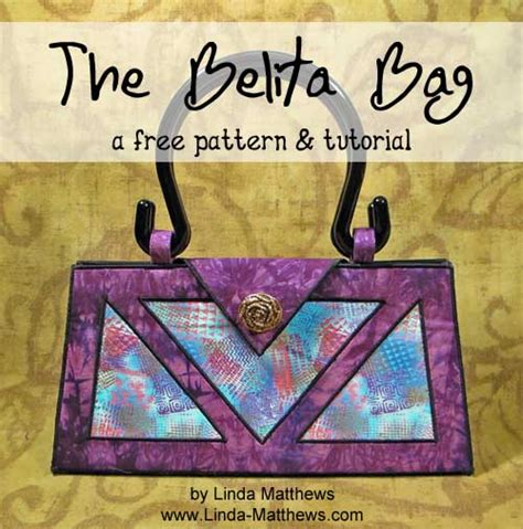 Purse Freebie Im A Herman Bag by The Belita Bag A Free Bag Pattern