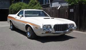 72 Ford Ranchero Check Out This 1 Owner 72 Ranchero The Ford Torino Page