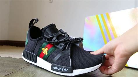 Jual Sepatu Gucci Sneaker Black Sz 43 Mirror Quality gucci nmd white gucci x adidas originals nmd r1 bee white nmd