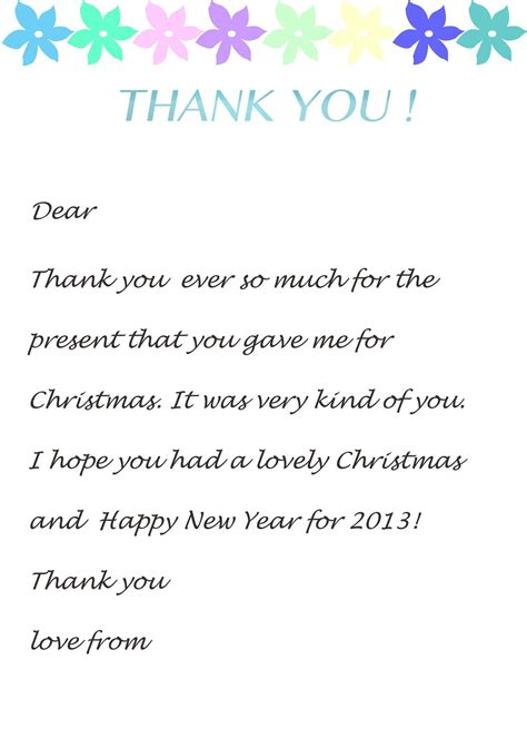 free sample thank you letters starengineering