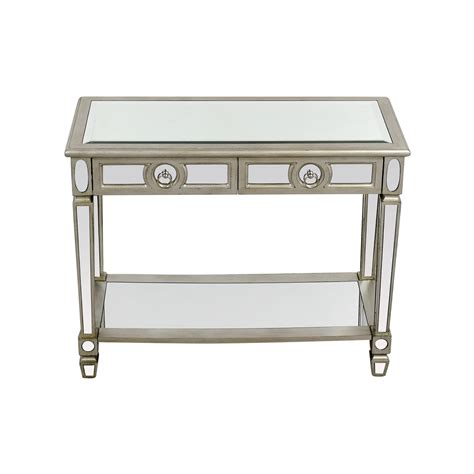 mirrored sofa table furniture mirrored sofa table hamilton home m 233 lange metallic fleur