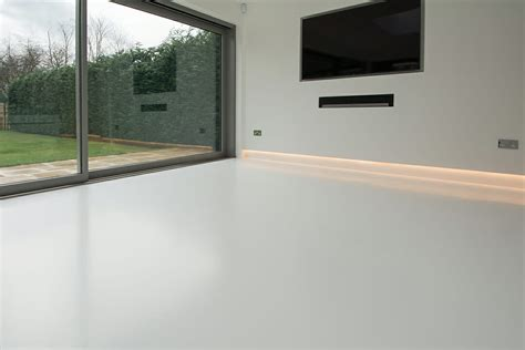 Poured Resin Floor by Domestic Resin Flooring Family Room And Kitchen Diner