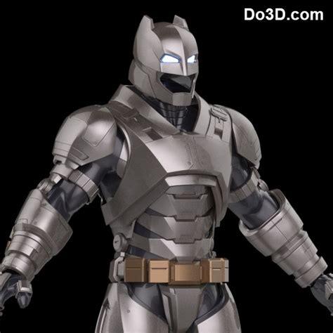 Jaket Hi Neck God Eater 3d printable model of armored batsuit from batman v superman of justice bvs doj