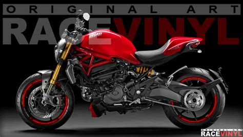 Ducati Monster 695 Aufkleber by Ducati Monster 620 659 696 750 796 800 900 1000
