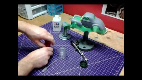how to mix tamiya acrylic paint for airbrushing