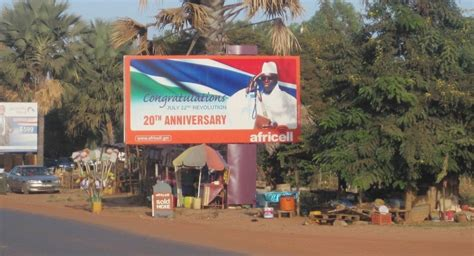 Protector Jawara 1 west leaders vow to protect gambian president