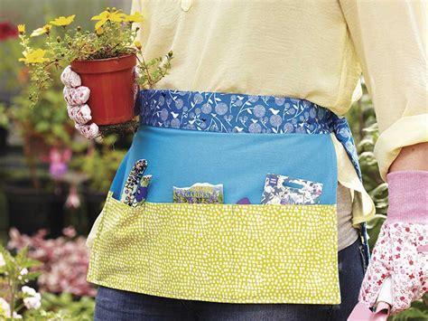sewing garden apron how to make a garden apron
