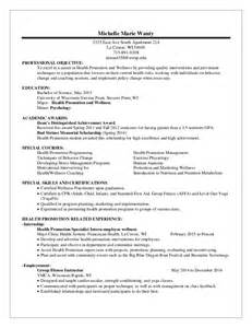Sle Resume For Exercise Science Major Exercise Physiologist Resume Cover Letter Exercise Physiologist Resume Sle Exercise Science