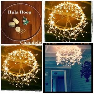 Patio Candle Chandelier Diy Hula Hoop Chandelier Pictures Photos And Images For
