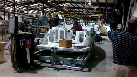monterey boats williston monterey boats factory tour youtube