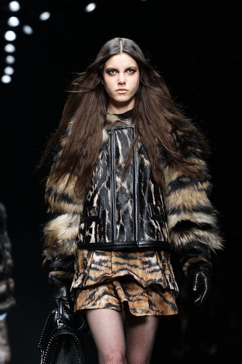 Catwalk To Front Row Fashion Week by Roberto Cavalli Front Row And Runway Milan Fashion Week