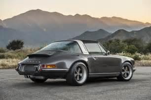 Singer Porsche California La Premi 232 Re Porsche 911 Targa 4 0 Par Singer Speedguerilla