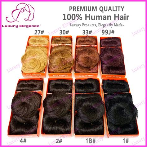 different types of 27pc weave 2015 short hair 8 different colors 100 brazilian human