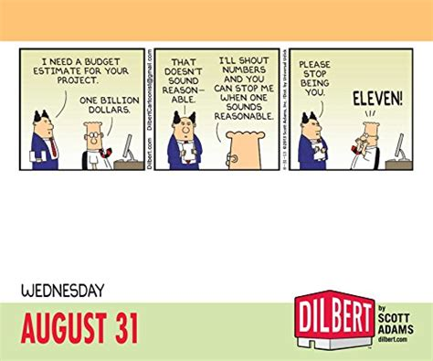 Calendar Budget Reviews Dilbert 2016 Day To Day Calendar Desertcart