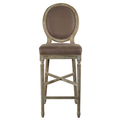 country bar stool medallion oak country bar stool in aubergine brown