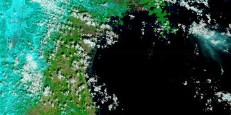imagenes satelitales japon jap 243 n im 225 genes satelitales demuestran la fuerza del tsunami