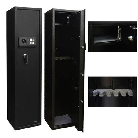 storage cabinet with electronic lock xtremepowerus security plus 5 rifle gun keyless electronic